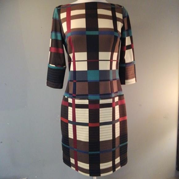 Jessica Simpson Dresses & Skirts - Abstract Block Print Jessica Simpson Dress